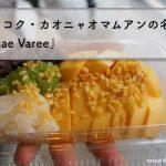 お米とマンゴー?タイ名物スイーツ「カオニャオマムアン」食べてみた@Mae Varee
