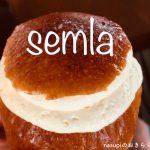 スウェーデンの伝統的なお菓子「セムラ」を食べる