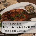 ランタ島でタイ料理をちょっとおしゃれに楽しむならThai Spice Cuisine