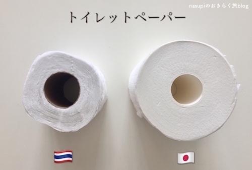 タイと日本の物価とおすすめトイレットペーパーの話