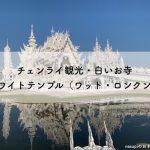 白いお寺【ホワイトテンプル(ワット・ロンクン)】チェンライ観光に外せない必訪スポット