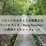 バンコクからすぐ!自然豊かな【バーンカチャオ(Bang Krachao)】で爽快ネイチャーウォーク