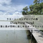 "<span class=""title"">ラヨーン・マングローブの森【Tung Prong Thong】海と森が同時に楽しめるボードウォーク</span>"